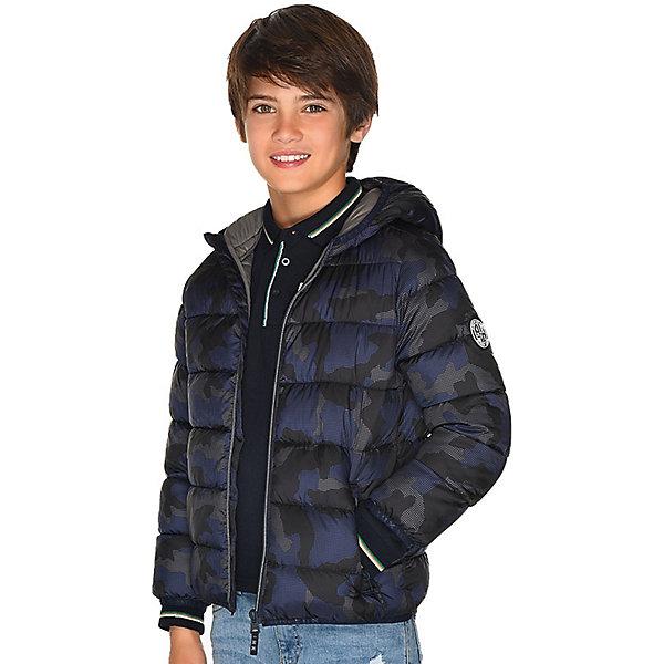 Купить Демисезонная куртка Mayoral, Мьянма, синий, 160, 164, 152, 140, 167/172, 128, Мужской