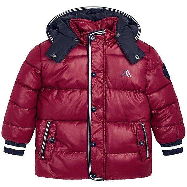 Купить Демисезонная куртка Mayoral, Китай, бордовый, 116, 92, 104, 110, 134, 128, 98, 122, Мужской
