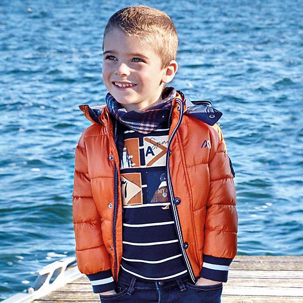 Купить Демисезонная куртка Mayoral, Китай, оранжевый, 98, 122, 134, 128, 116, 110, 104, 92, Мужской
