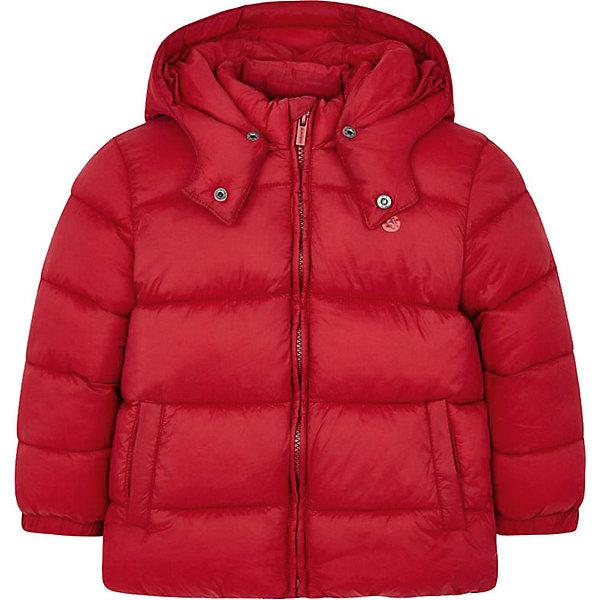 Купить Демисезонная куртка Mayoral, Мьянма, красный, 98, 122, 104, 116, 128, 92, 134, 110, Мужской