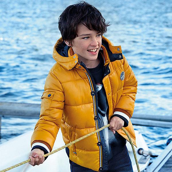 Купить Демисезонная куртка Mayoral, Китай, желтый, 164, 152, 140, 167/172, 128, 160, Мужской