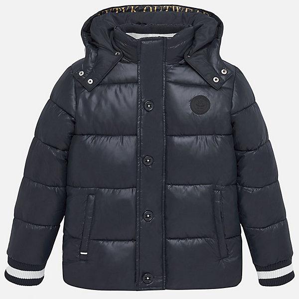 Купить Демисезонная куртка Mayoral, Китай, темно-синий, 167/172, 128, 164, 160, 152, 140, Мужской