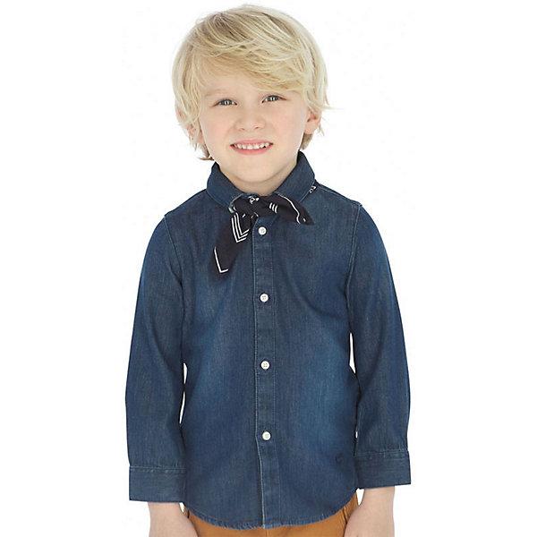 Mayoral Джинсовая рубашка