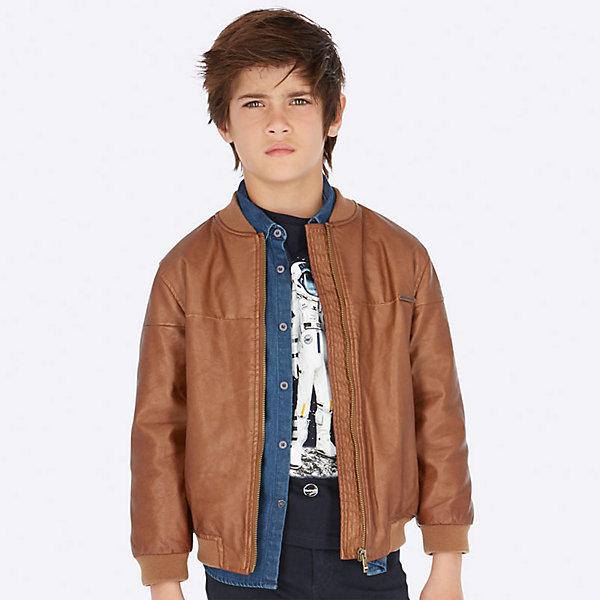 Куртка Mayoral, Китай, коричневый, 152, 128, 164, 167/172, 140, 160, Мужской  - купить со скидкой