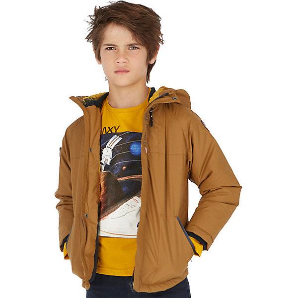Купить Демисезонная куртка Mayoral, Китай, коричневый, 128, 167/172, 140, 164, 152, 160, Мужской