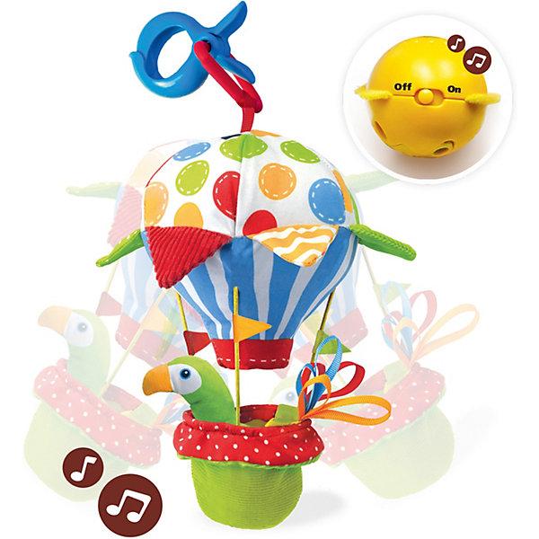 Yookidoo Мягкая игрушка Попугай на воздушном шаре, музыкальная