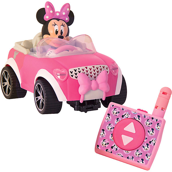 Купить Автомобиль на радиоуправлении Disney Минни Автомобиль Минни, Китай, розовый, Женский