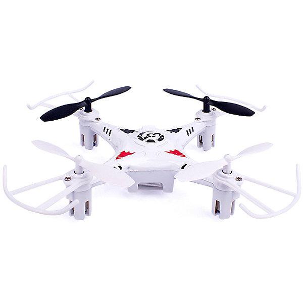 Купить Квадрокоптер на радиоуправлении Mioshi Tech 3D Мини-дрон-11, Китай, белый, Унисекс