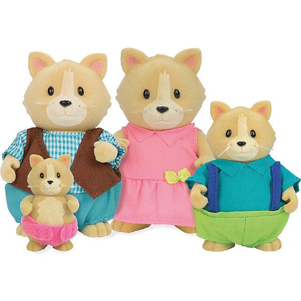 Фото - Li'l Woodzeez Игровой набор Li'l Woodzeez Семья кошек игровые наборы lil woodzeez набор игровой семья коал