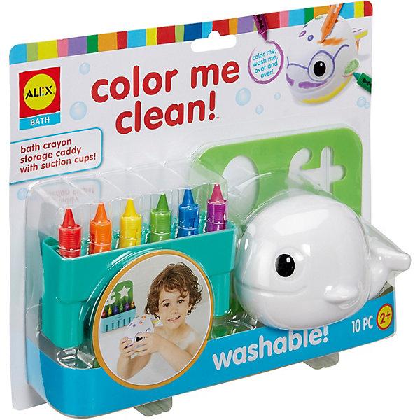 ALEX Набор для творчества Alex Раскрась меня пластмассовая игрушка для ванны alex осьминог 842s