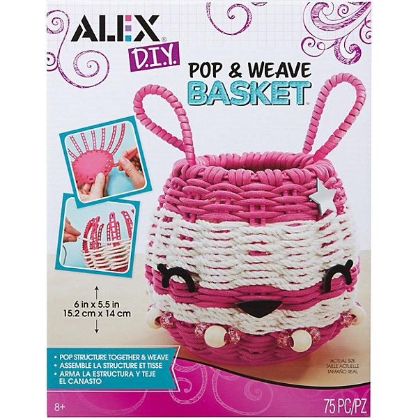 ALEX Набор для творчества Alex «Для плетения корзинки» цена