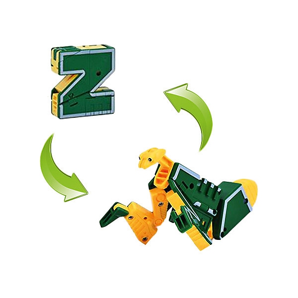 1Toy Трансбот 1Toy Lingvo Zoo, буква Z