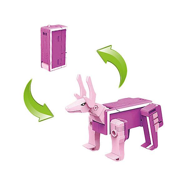 Трансбот 1Toy Lingvo Zoo, буква IТрансформеры-игрушки<br>Характеристики товара:<br><br>• материал: пластик<br>• серия: Lingvo Zoo<br>• страна производитель: Китай<br><br>В коллекции 26 букв, каждая из которых трансформируется в животного. Буква I - Олень. На упаковке можно найти интересный факт об этом животном. При комбинации букв HIJ можно собрать Робота-боксера.