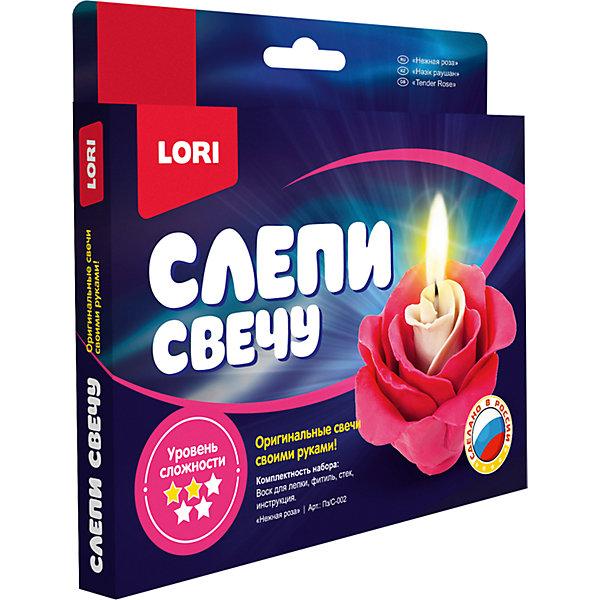 Фото - LORI Набор для творчества Lori Слепи свечу Нежная роза lori слепи свечу божья коровка