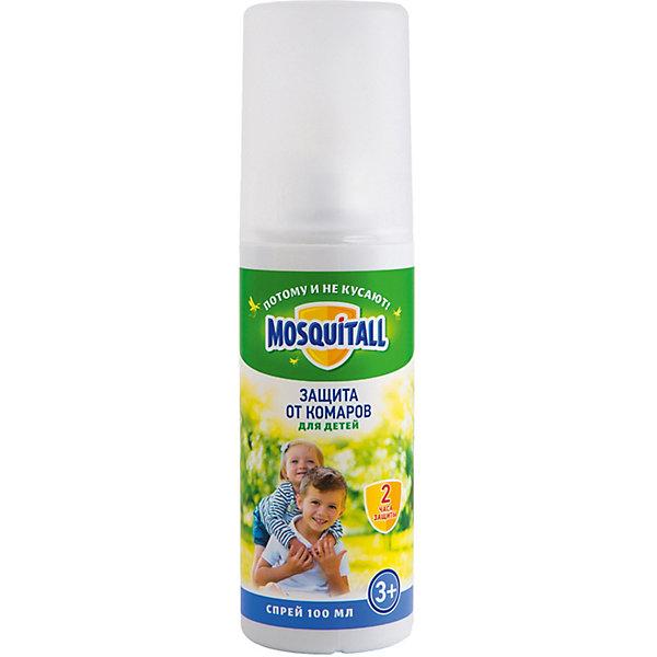 MOSQUITALL Спрей от комаров Mosquitall нежная защита, 100 мл