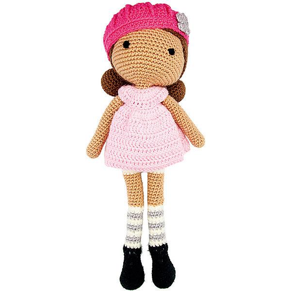 Купить Вязаная игрушка Niki Toys Кукла Эрика, 40см, Россия, розовый, Женский