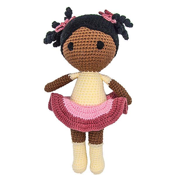 Купить Вязаная игрушка Niki Toys Кукла Мери, 40см, Россия, разноцветный, Женский