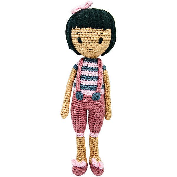 Niki Toys Вязаная игрушка Кукла Бьянка, 40см