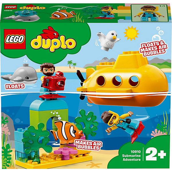 LEGO Конструктор DUPLO Town 10910: Путешествие субмарины