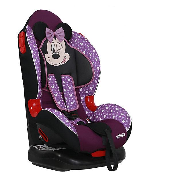 цена Siger Автокресло Siger Кокон ISOFIX Disney Микки Маус звёзды, 9-25 кг, фиолетовое онлайн в 2017 году