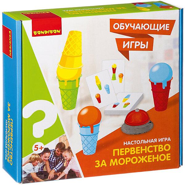 Bondibon Настольная игра Обучающие игры Первенство за мороженое