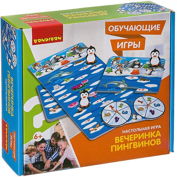 Bondibon Настольная игра Обучающие игры Вечеринка пингвинов