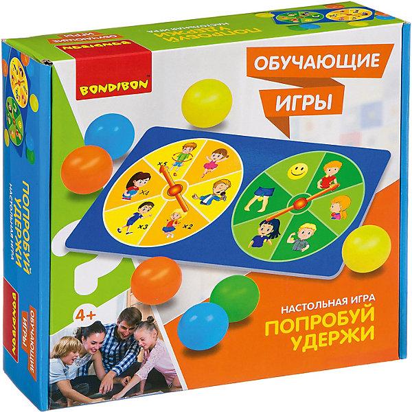 Bondibon Настольная игра Обучающие игры Попробуй удержи