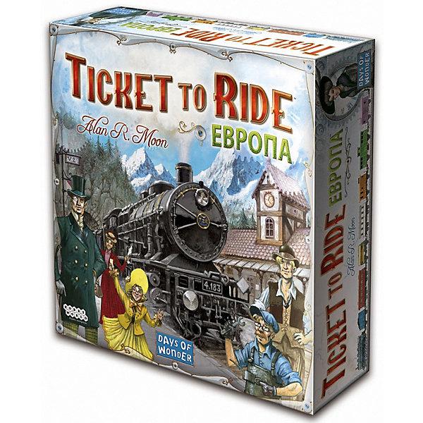 Купить Настольная игра Hobby World Ticket to Ride: Европа, 3-е издание, Россия, Унисекс