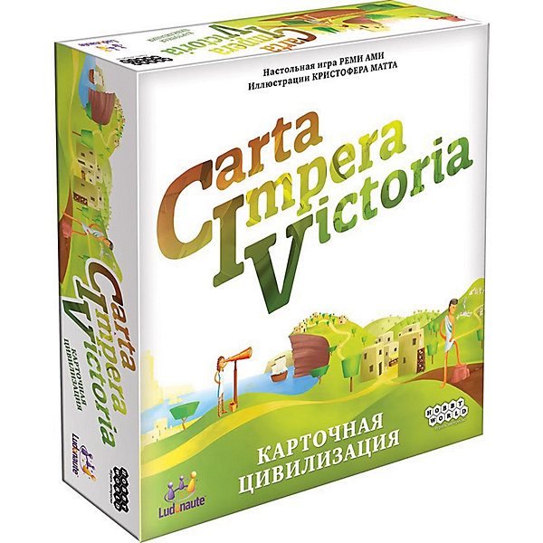 Настольная игра Hobby World CIV: Carta Impera Victoria