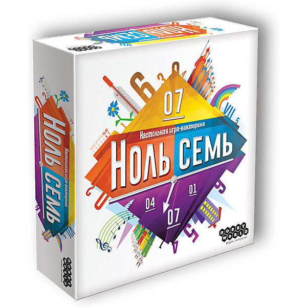 Hobby World Настольная игра Ноль Семь