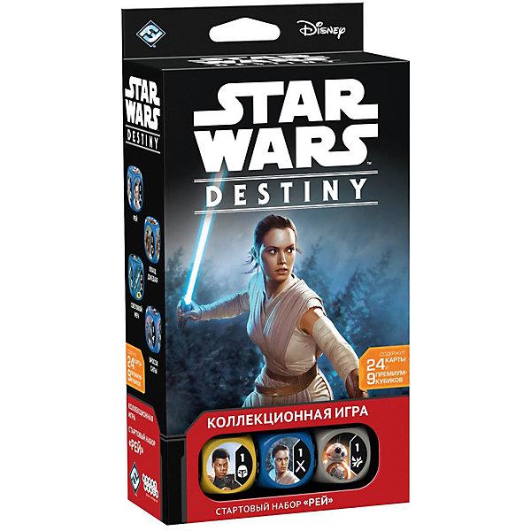 """Картинка для Настольная игра Hobby World Star Wars: Destiny """"Стартовый набор"""" Рэй"""