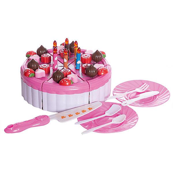 Junfa Toys Игровой набор Junfra Фруктовый торт с аксессуарами