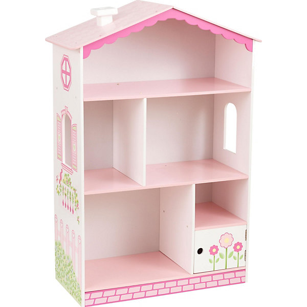 Купить Книжная полка KidKraft Кукольный домик , Китай, розовый, Женский