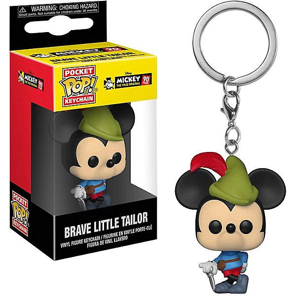 Funko Брелок Funko Pocket POP! Keychain: Disney Микки Маус 90-х, Храбрый портняжка, 32174-PDQ disney дисней наклейка 153 х 92 микки 4 21 0002