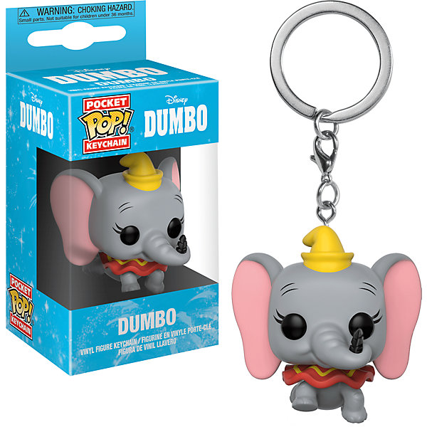 цена на Funko Брелок Funko Pocket POP! Keychain: Disney Дамбо Дамбо, 31753-PDQ