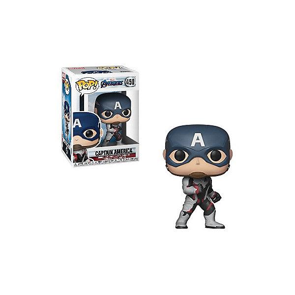 Funko Фигурка POP! Bobble: Marvel Мстители: Финал Капитан Америка, 36661