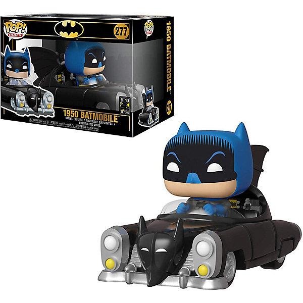 Funko Фигурка Funko POP! Rides: DC Бэтмен 80х, Бэтмен на бэтмобиле 1950, 37252 funko фигурка funko pop vinyl dc batman 80th бэтмен 1989 37248