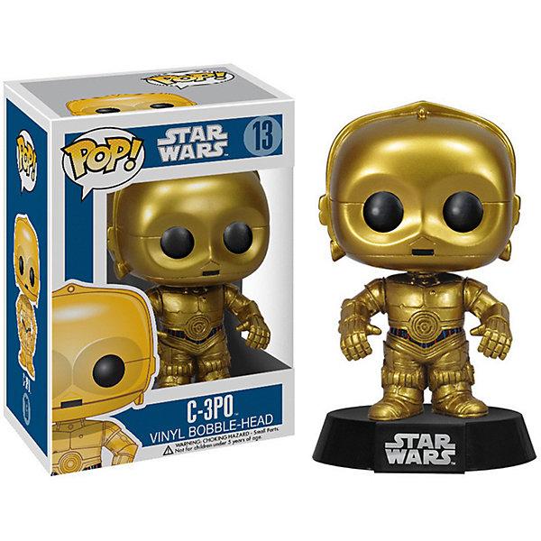 Funko Фигурка POP! Bobble: Звездные войны C-3PO, 2387