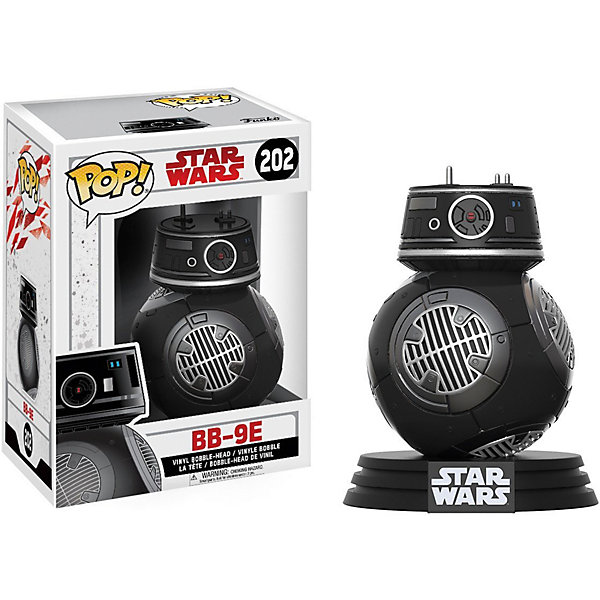 Funko Фигурка POP! Bobble: Звездные войны E8 TLJ, BB-9E, 14751
