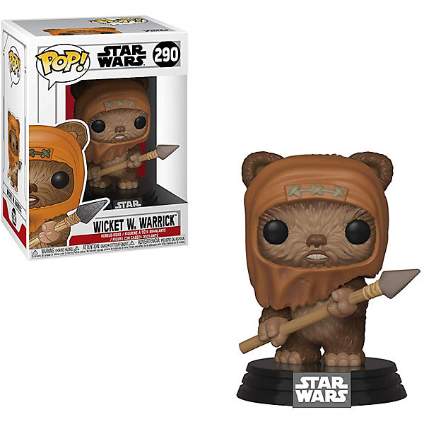 Funko Фигурка POP! Bobble: Звездные войны Уикет У. Уоррик, 37525