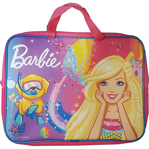 Купить Папка-сумка «Барби», А4, CENTRUM, Россия, розовый, Женский