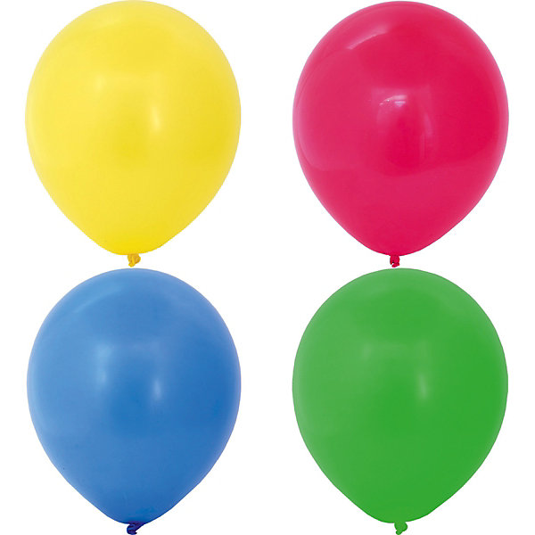 ACTION! Воздушные шары Action! 30 см, 5 шт action шары воздушные с днем рождения 30 см 50 шт
