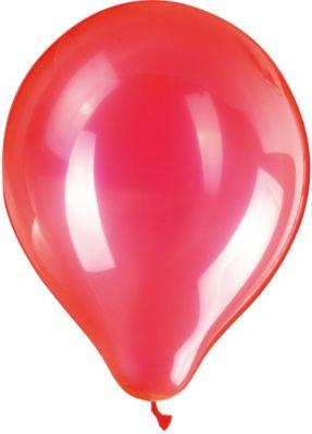 Zippy Воздушные шары Zippy, 50 шт, неоновые, красные товары для праздника zippy шары воздушные 25 см 50 шт