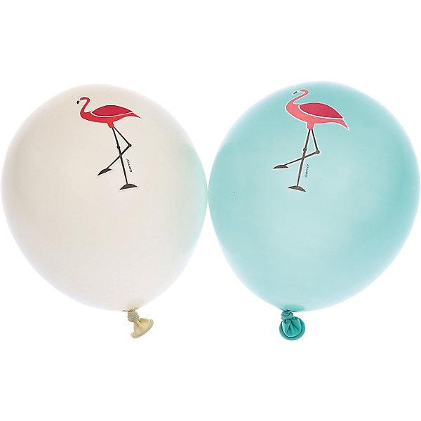 Belbal Воздушные шары с рисунком Фламинго 50 шт