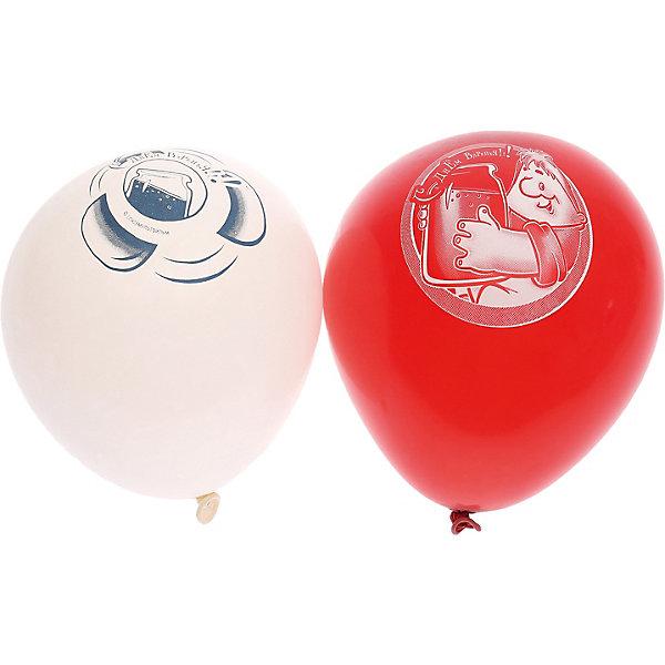 Belbal Воздушные шары с рисунком День рождения, Малыш и Карлсон 50 шт