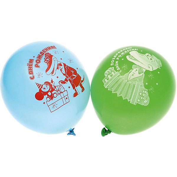 """Belbal Воздушные шары Belbal с рисунком """"День рождения, Чебурашка"""" 50 шт"""