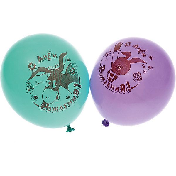 """Belbal Воздушные шары Belbal с рисунком """"День рождения, Винни-Пух"""" 50 шт"""