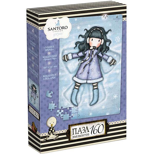 Купить Пазл Santoro Зимнее время, 160 элементов, с наклейками, Origami, Россия, Женский