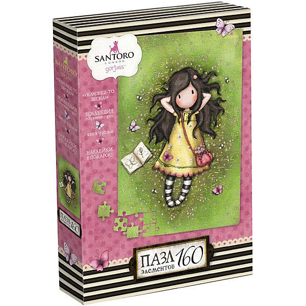 Купить Пазл Santoro Наконец-то весна, 160 элементов, с наклейками, Origami, Россия, Женский
