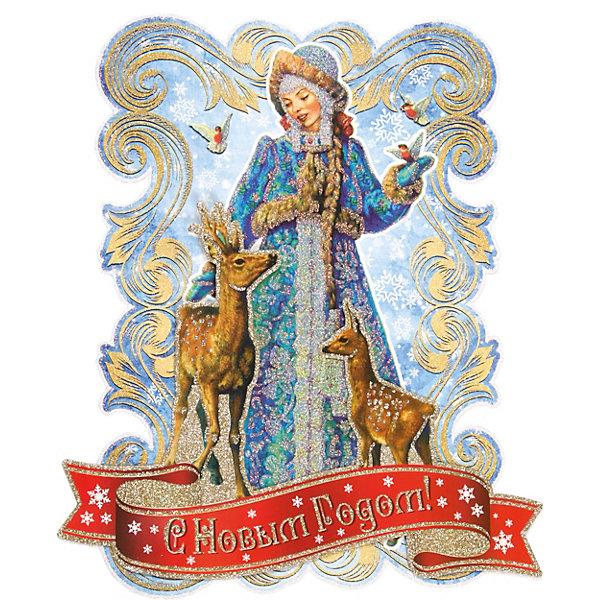 Феникс-Презент Новогоднее украшение Fenix-present Снегурочка и оленята